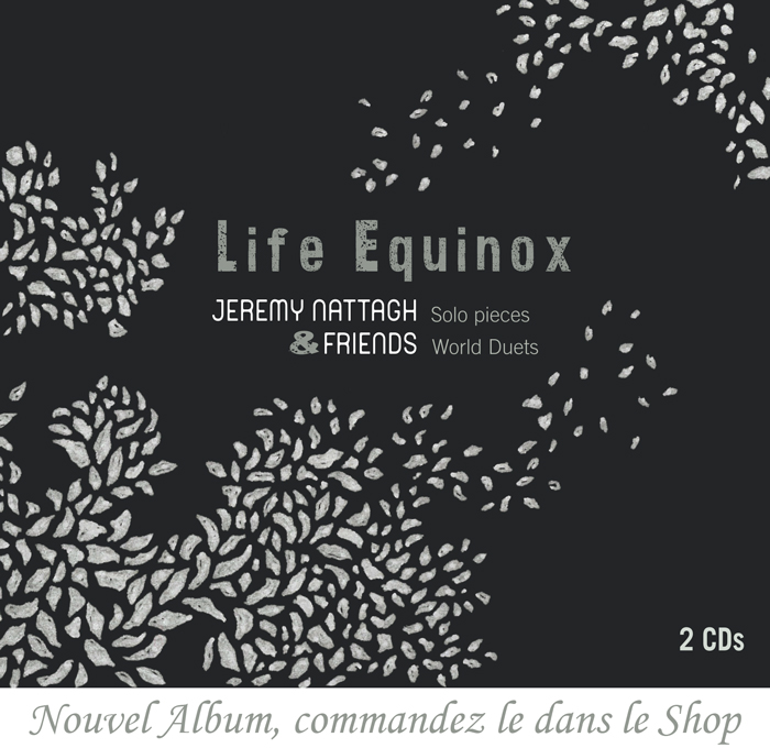 pop up album 2019 jeremy nattagh LIFE EQUINOX hang handpan 2