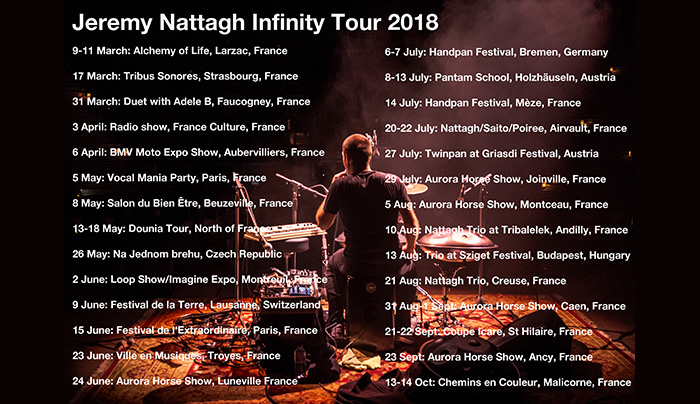 Flyer Infinity Tour 2018 nattagh hang news website
