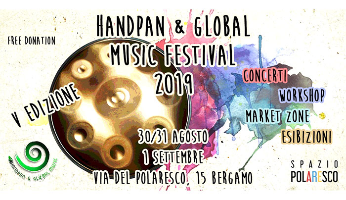 duo workshop adele b handpan global music festival bergamo italy nattagh multiman hang handpan