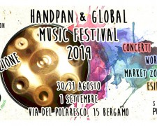 Duo + workshop avec Adèle B, Handpan & Global Music Festival, Bergamo, Italy